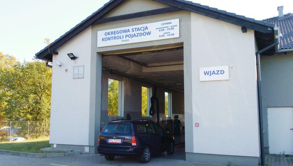 okregowa stacja kontroli pojazdów wjazd